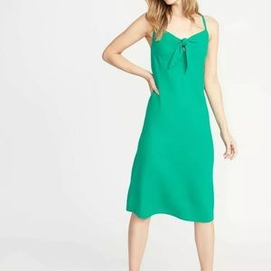 Old navy tie front dress XL tag less